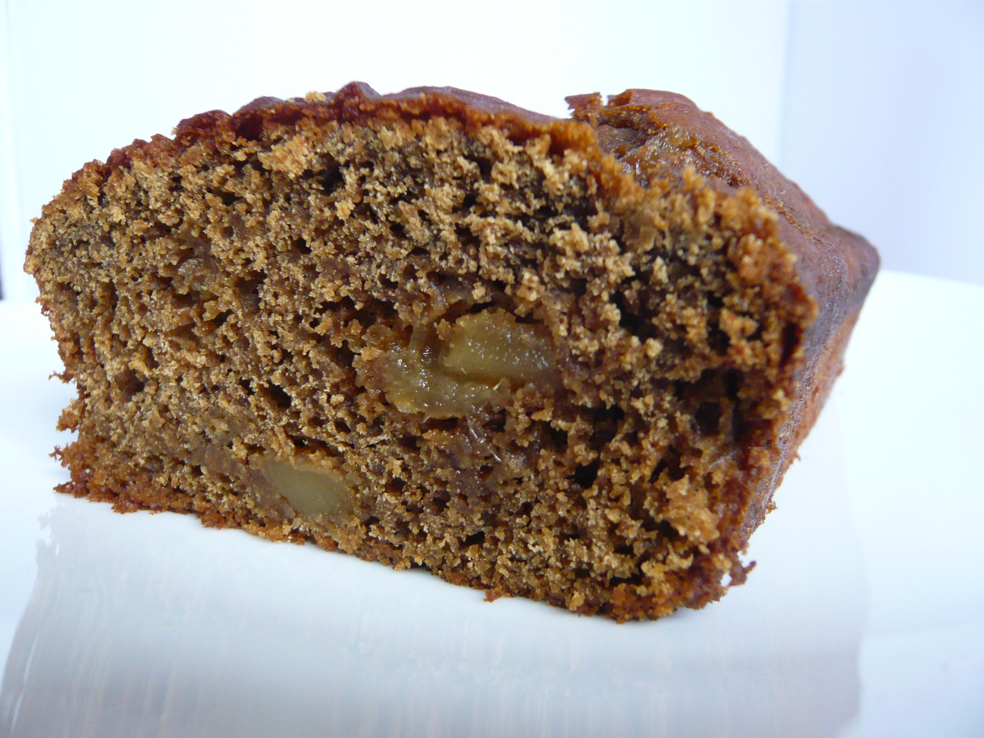 Jamaican Ginger Cake/Gâteau jamaïquain au gingembre