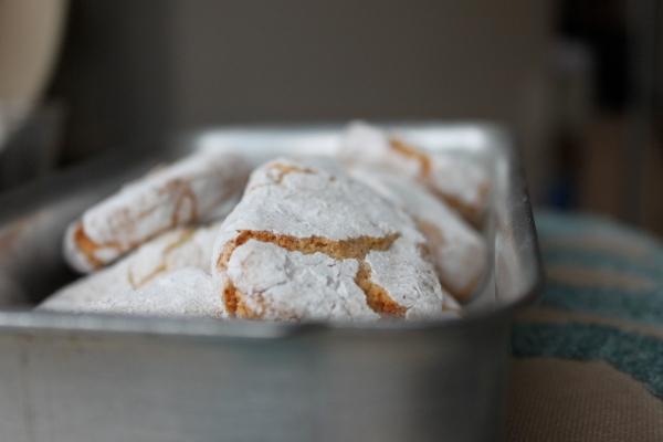 Gluten free Ricciarelli