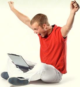 Ecstatic-laptop